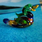 Handmade Glass Duck