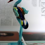 Handmade Glass Emu Figurine