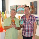 Glass Master Nirvano Voltolina in Brisbane at C Gallery